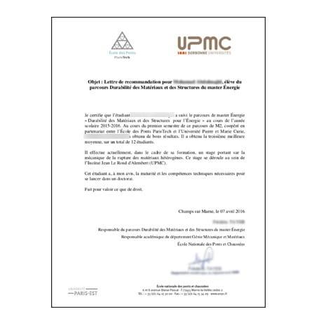 lettre de recommandation en anglais traduction Traduire une lettre de recommandation lettre de recommandation en anglais traduction
