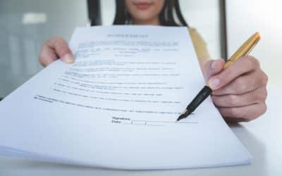 Modèle de contrat de travail et règles à respecter